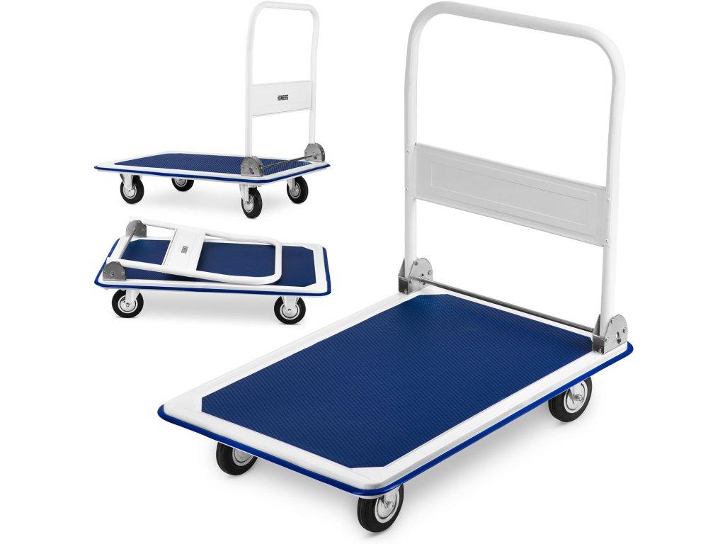 Ručný transportný vozík HM 501 biely a modrý 1