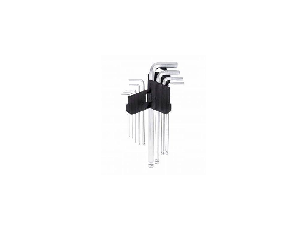 Imbusové šesťhranné kľúče 1,5 10 mm CRV ,9 kusov 1