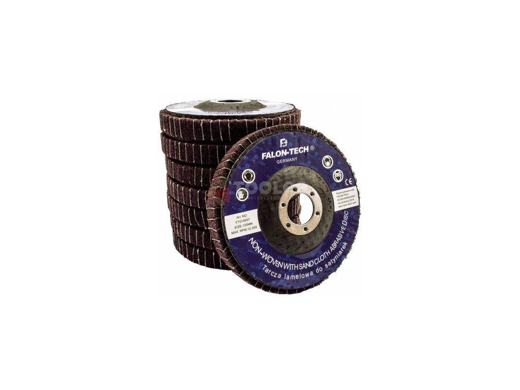 Kotúč pre netkaný lamelový 125 mm brúsny kotúč FALON satén,1