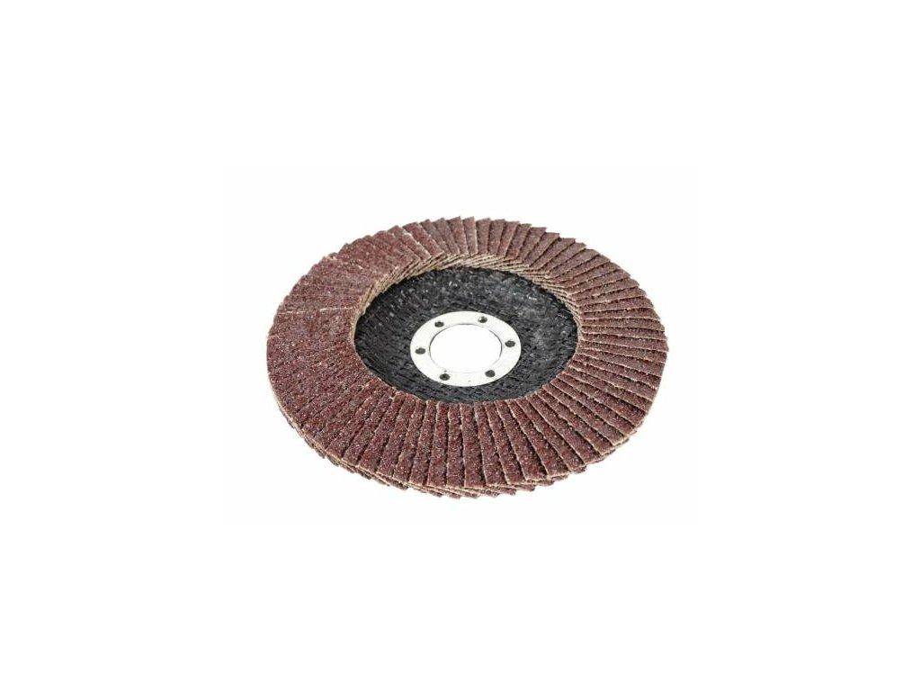 Klapkový kotúč na brúsenie lamely 125 mm P60,1