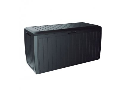 Zahradní box BOXE BOARD antracit 116cm - 290L