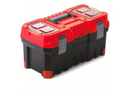 Kufor na náradie TITAN PLUS červený 554x286x276