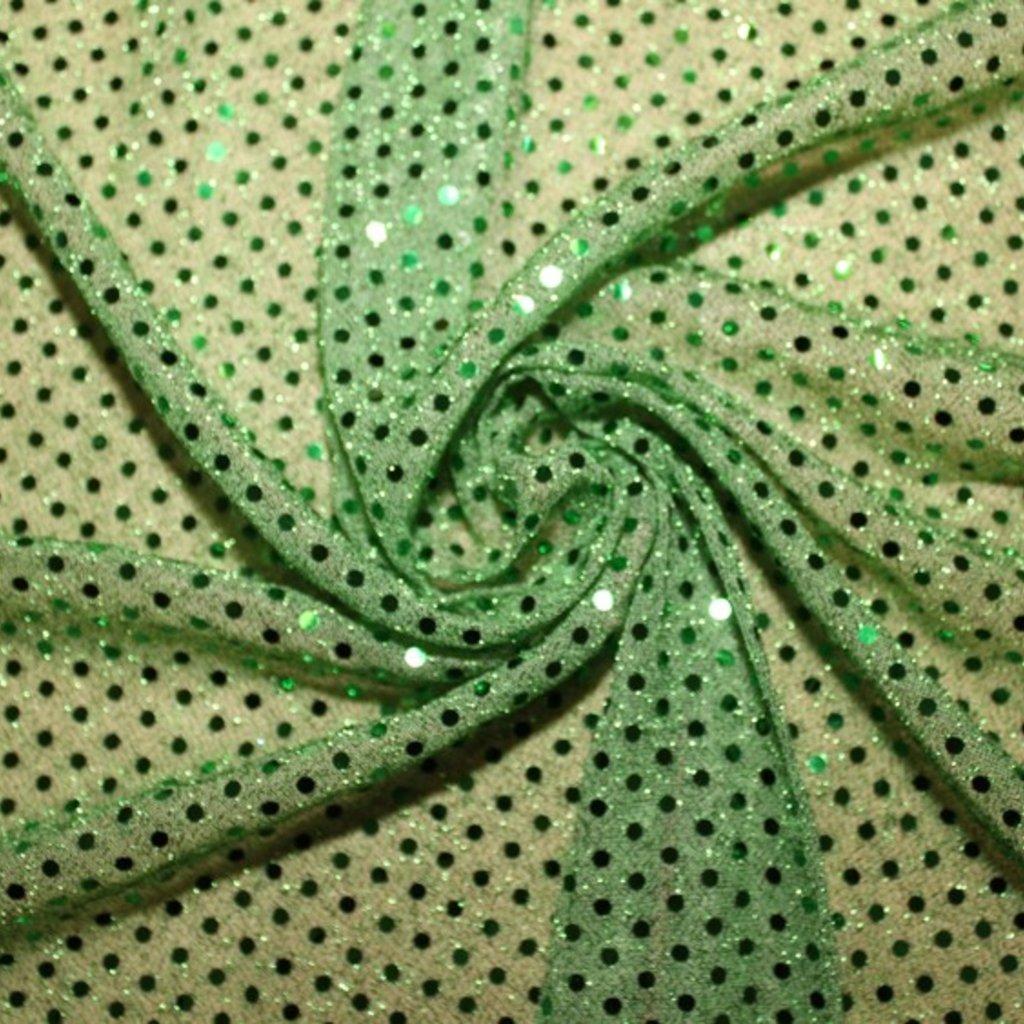 Flitrová látka zelená