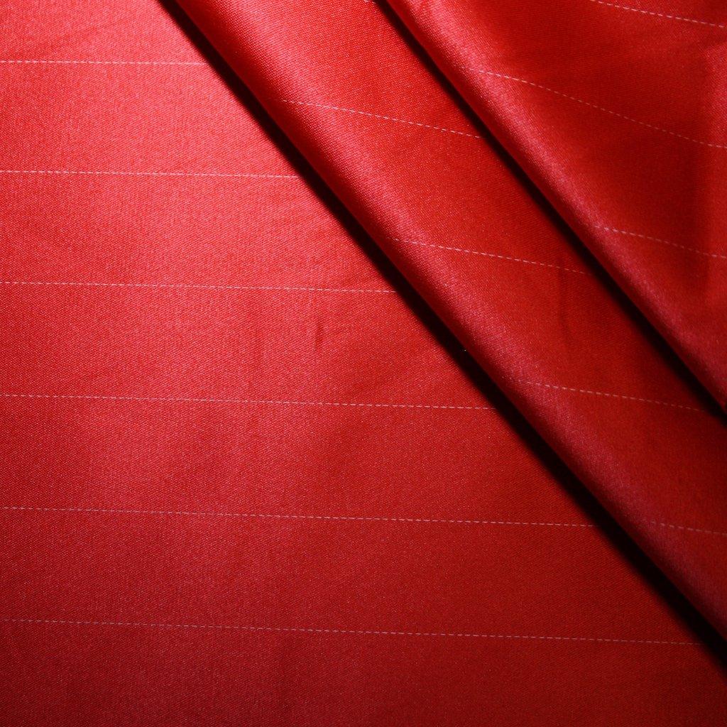 Satén jemný prádlový červený