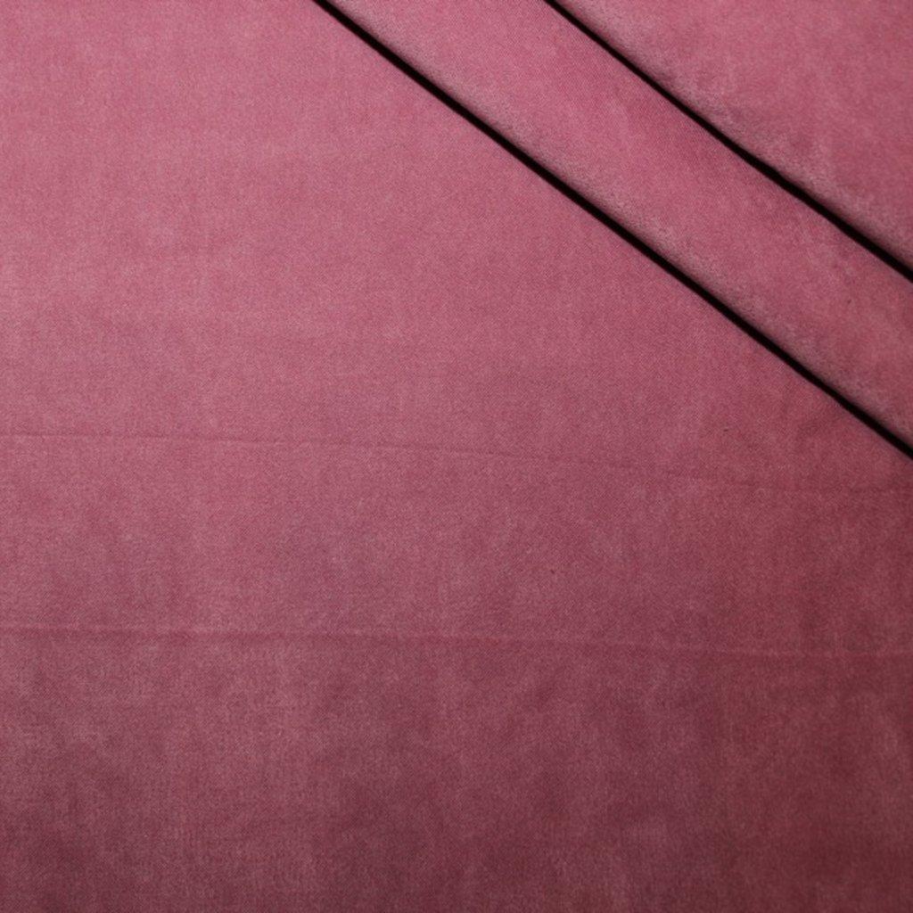Polyestrová látka starorůžová