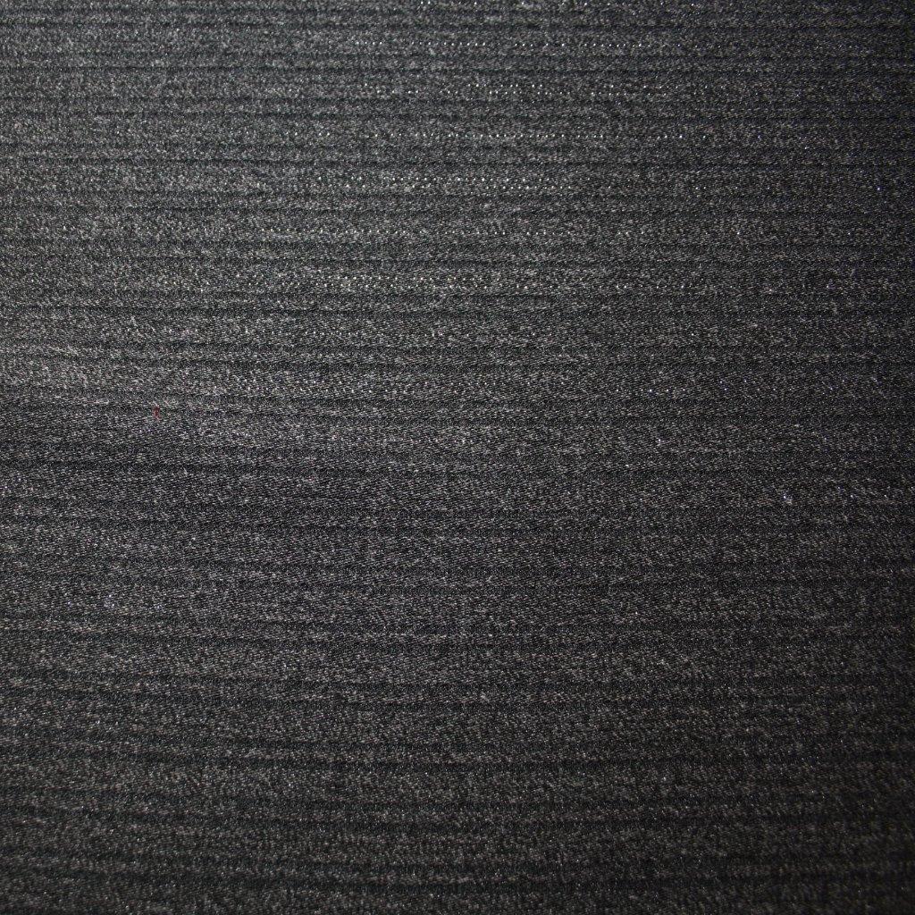 Kostýmovka s proužkem černá