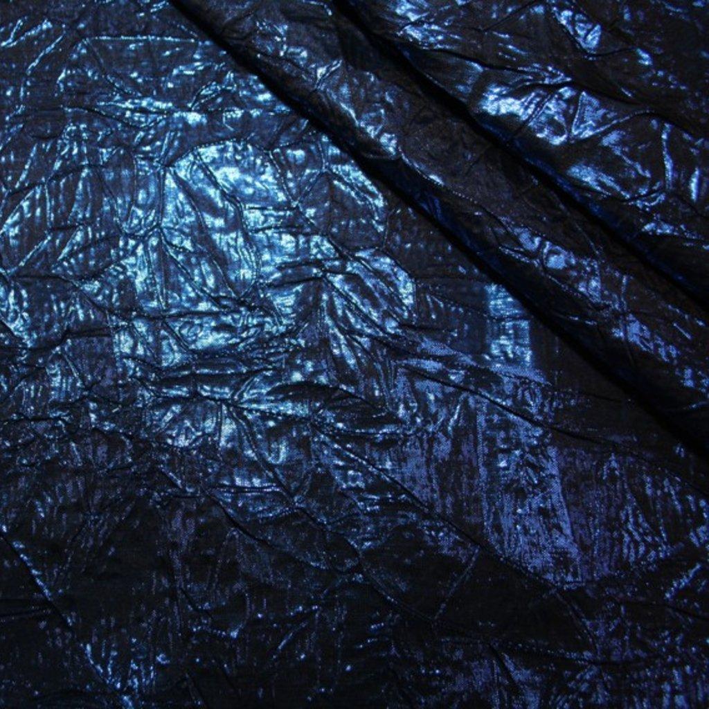 Dekorační látka tmavě modrá