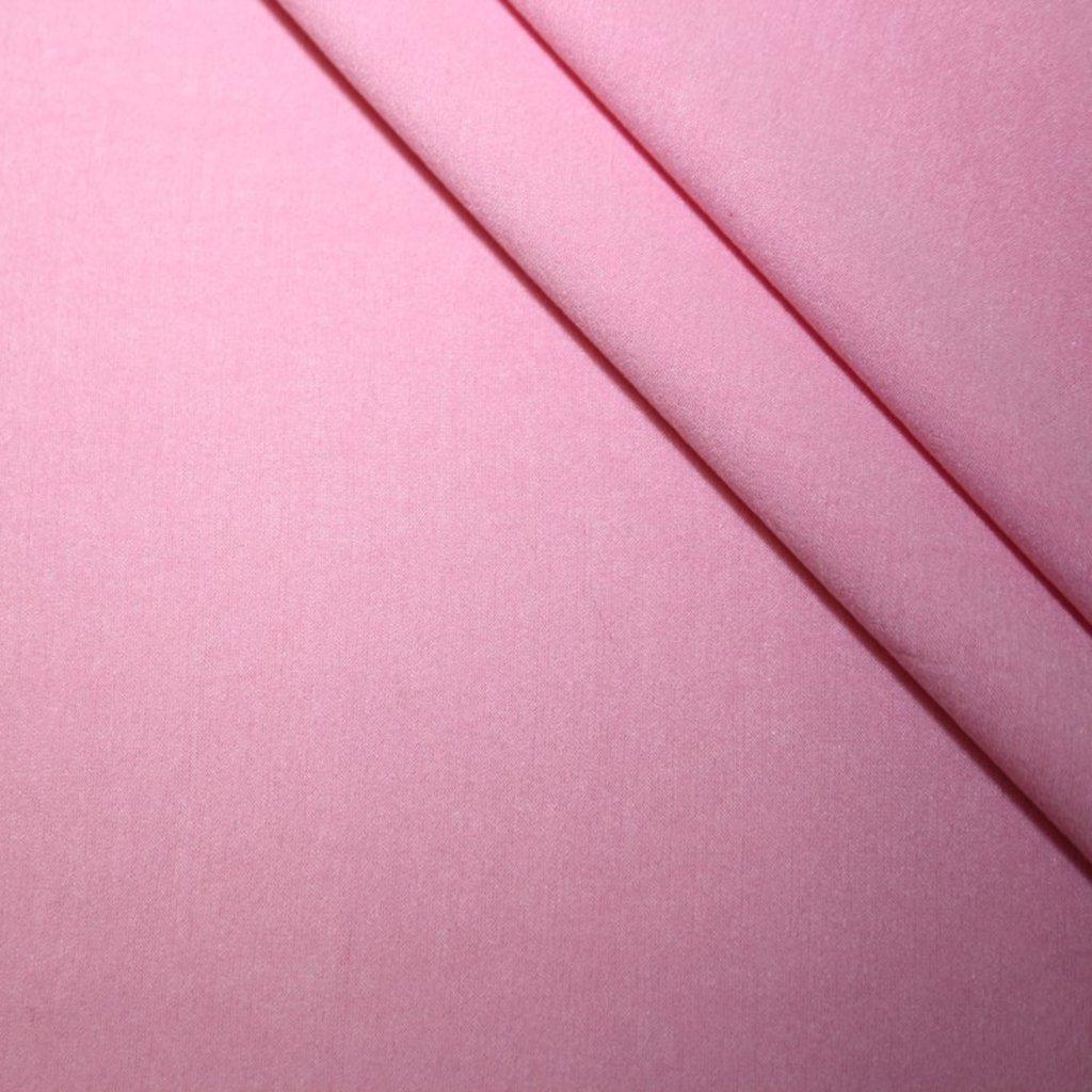 Úplet jednobarevný růžový