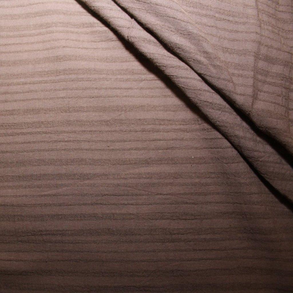 Bavlna s potiskem hnědá