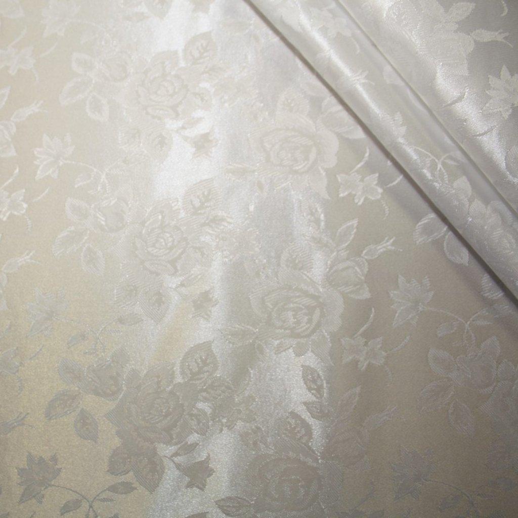 Brokát svatební bílý
