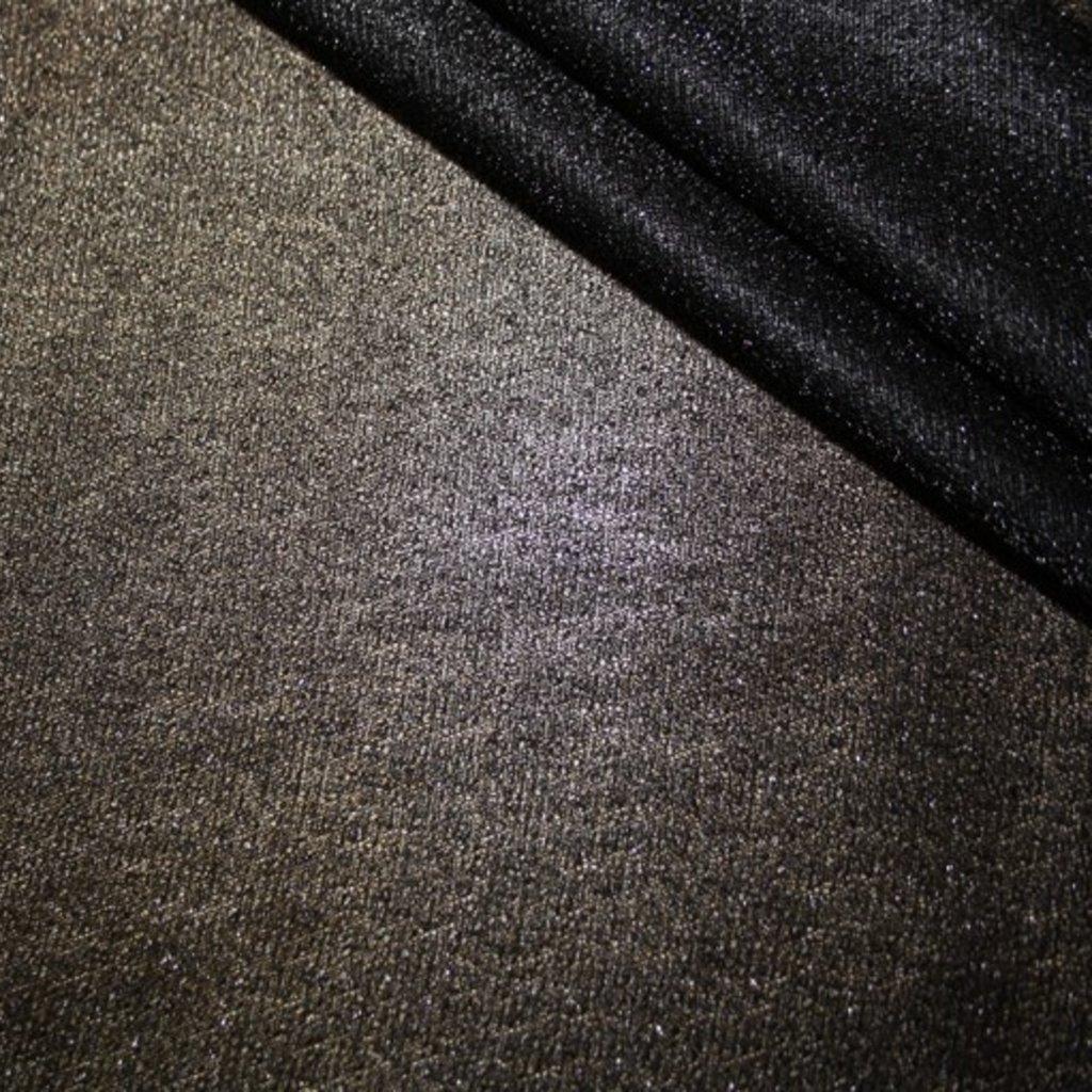 Úplet lurexový černý