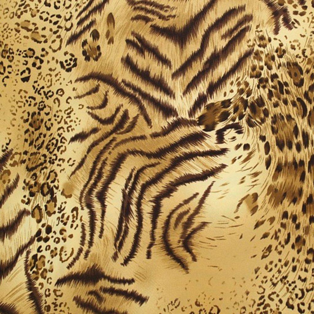 Úplet viskózový se zvířecím vzorem
