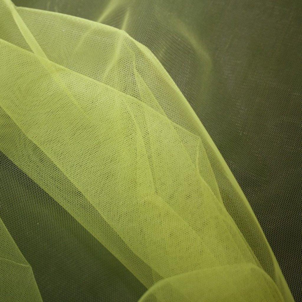 Spodničkový tyl středné silný bez lesku žlutý