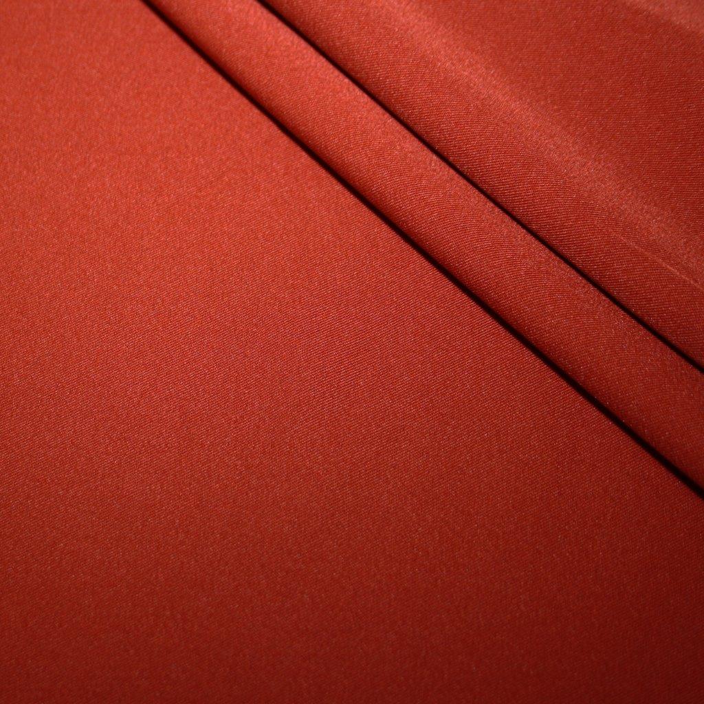 Kostýmovka jednobarevná cihlová