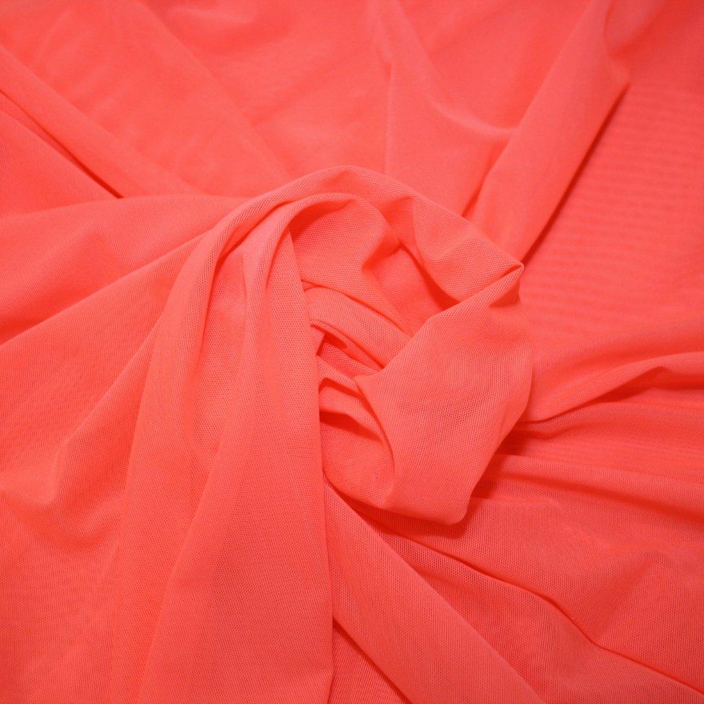 Tyl pružný svítivé oranžový