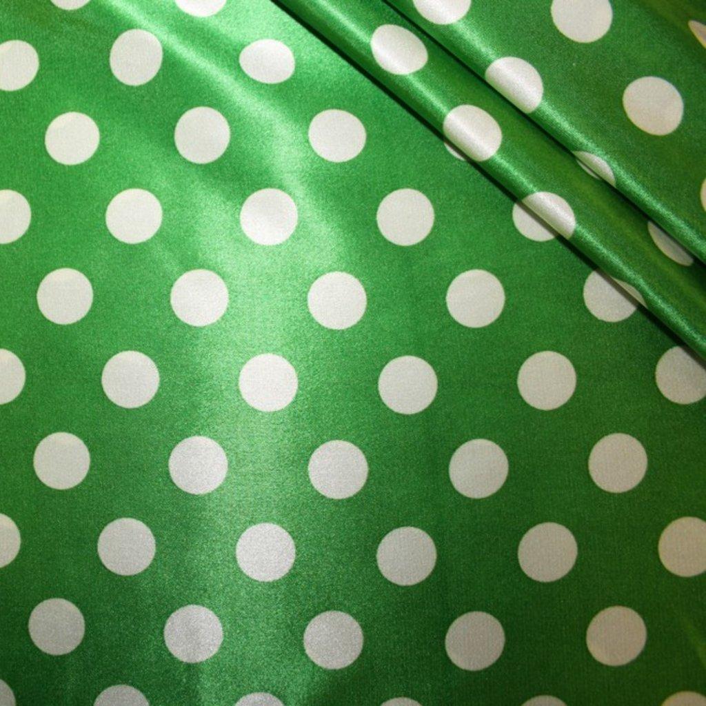 Látka na letní šaty zelená