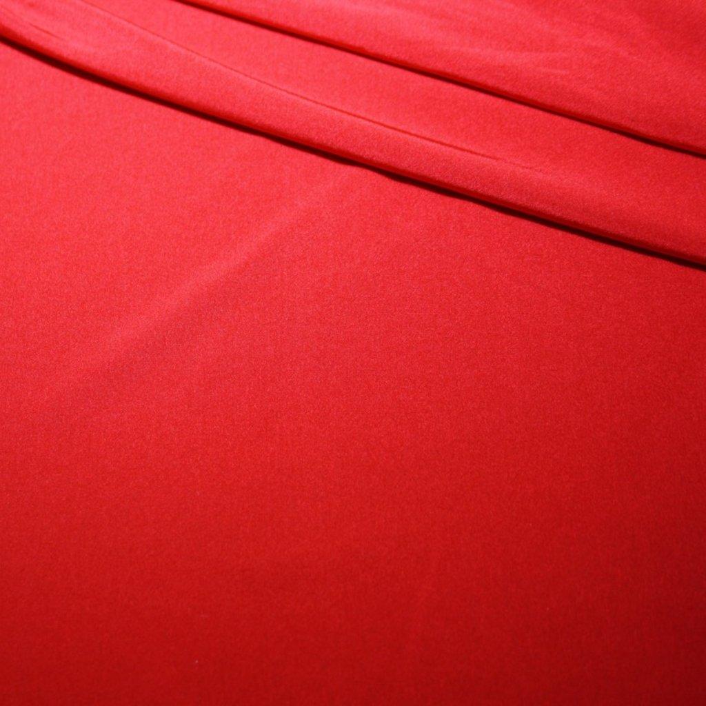 Úplet jednobarevný červený