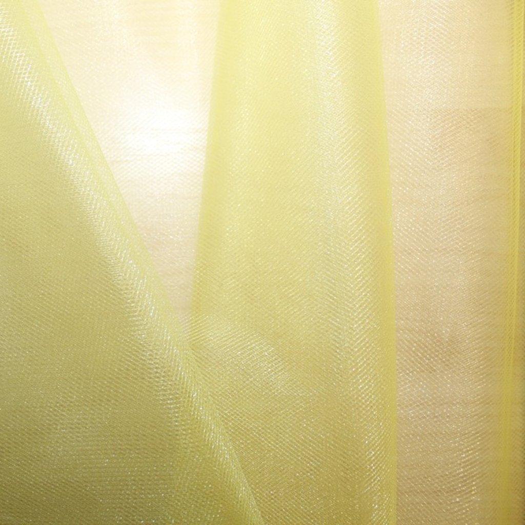 Tyl středně silný třpytivý žlutý