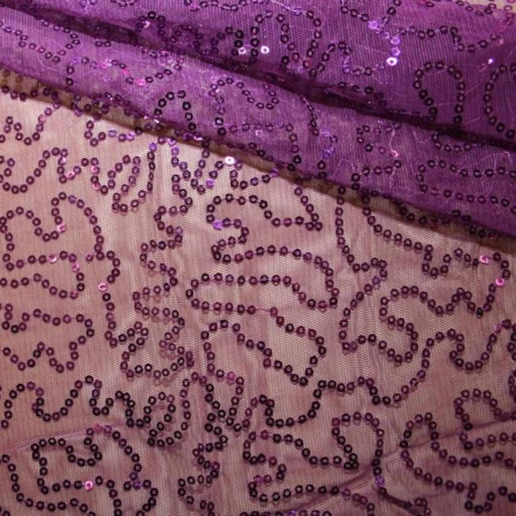 Flitrová látka fialová