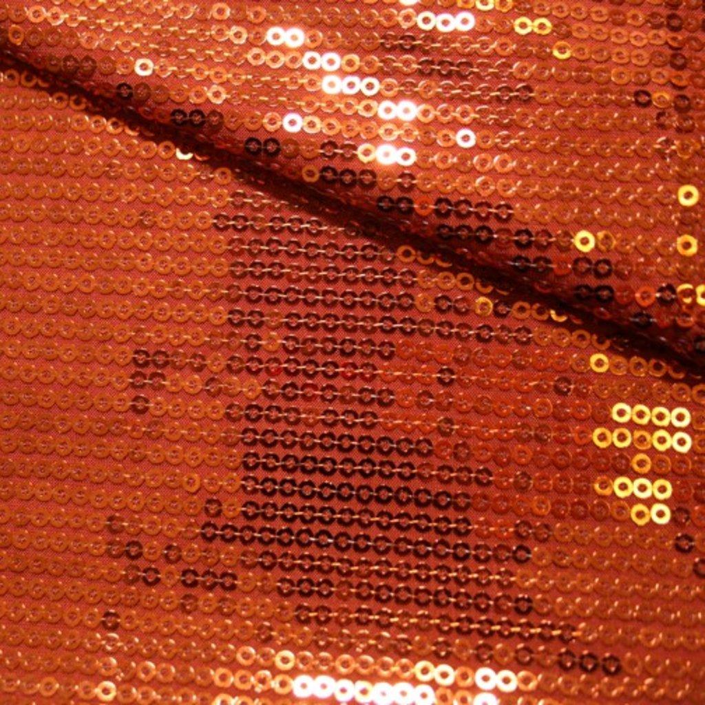 Flitrová látka oranžová