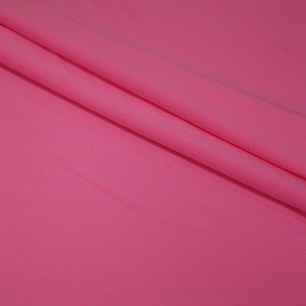 Lycra jednobarevná svítivé růžová