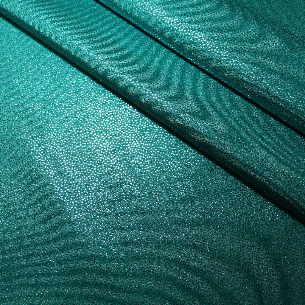Lycra s lesklou úpravou zelená
