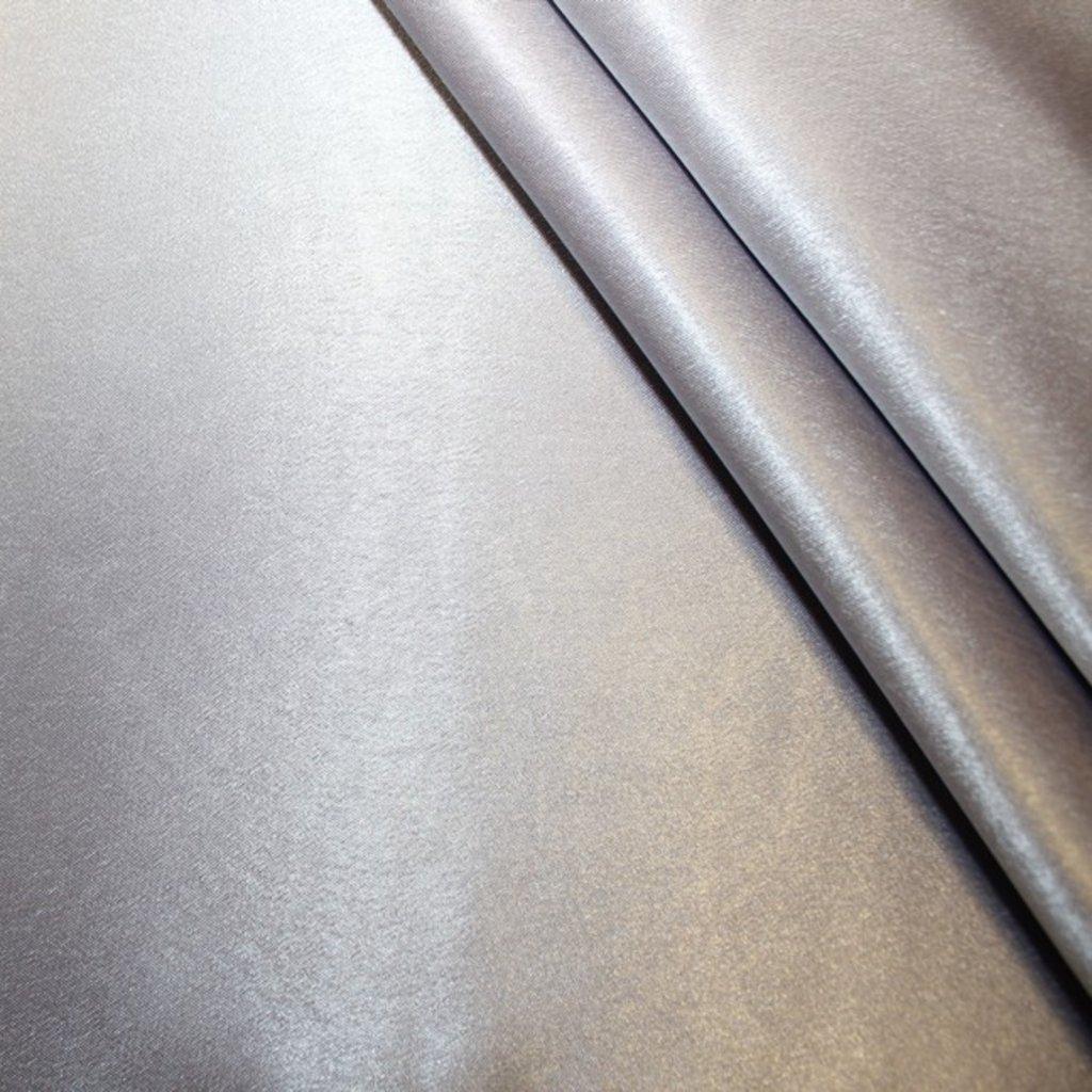 Krepsatén stříbrný