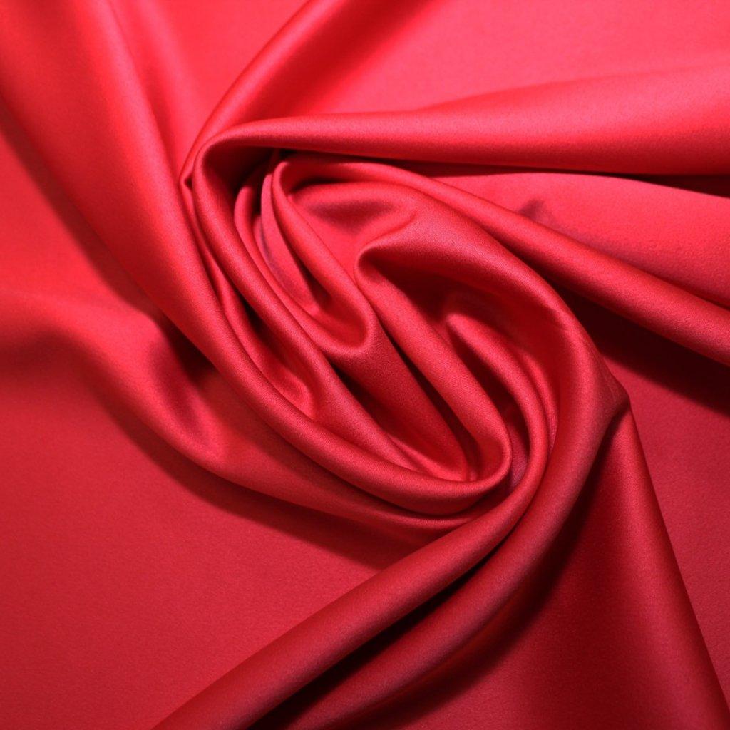 Polyester světle červený