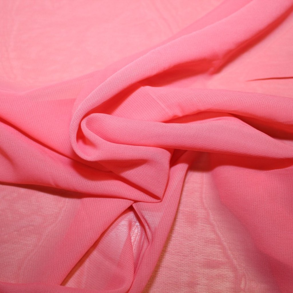 Šifon růžový