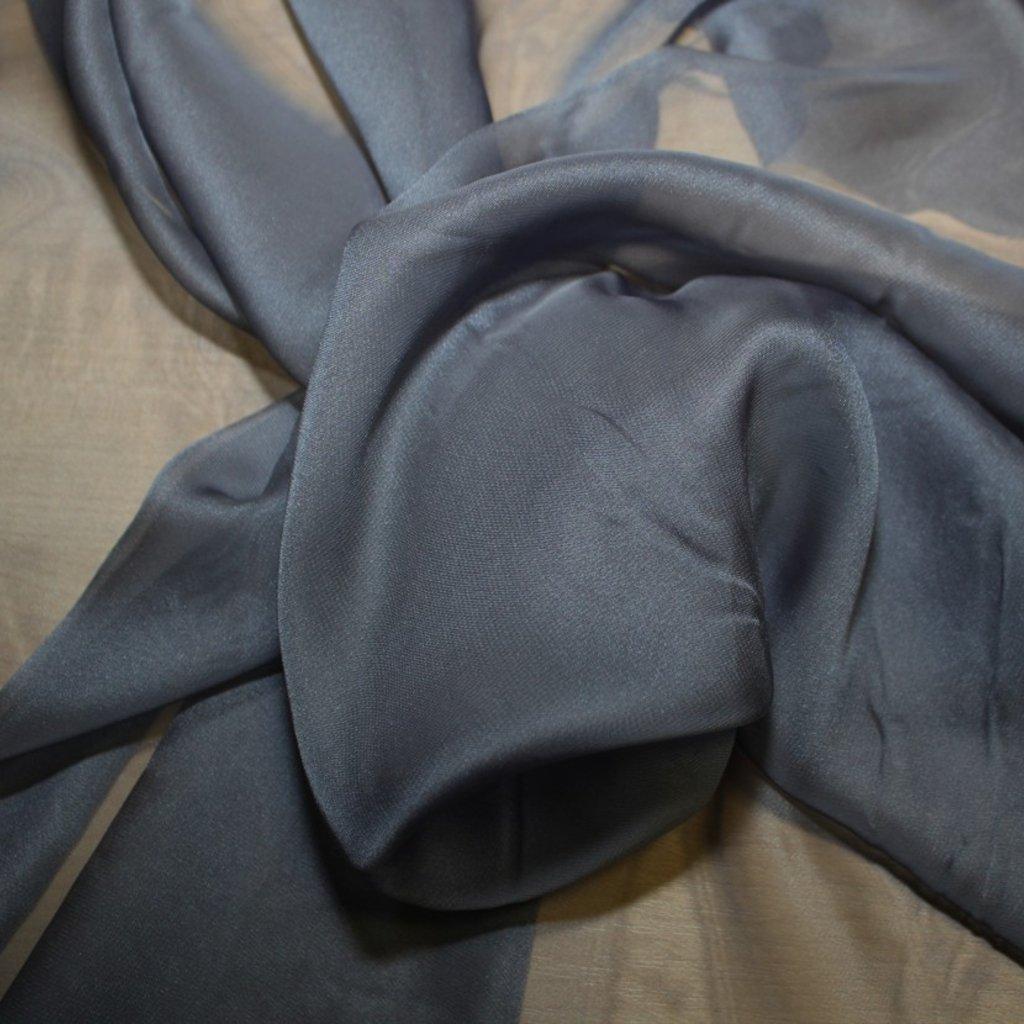 Šifon šedý