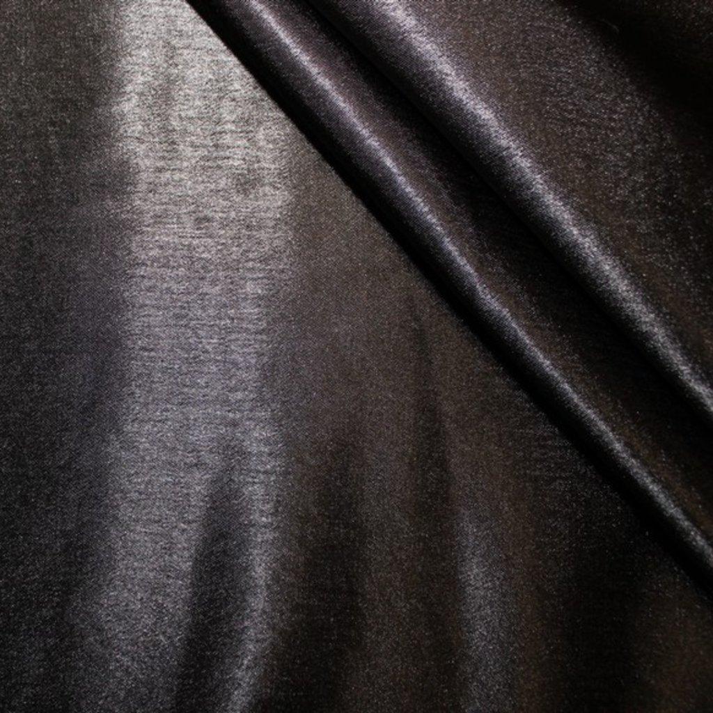 Krepsatén černý