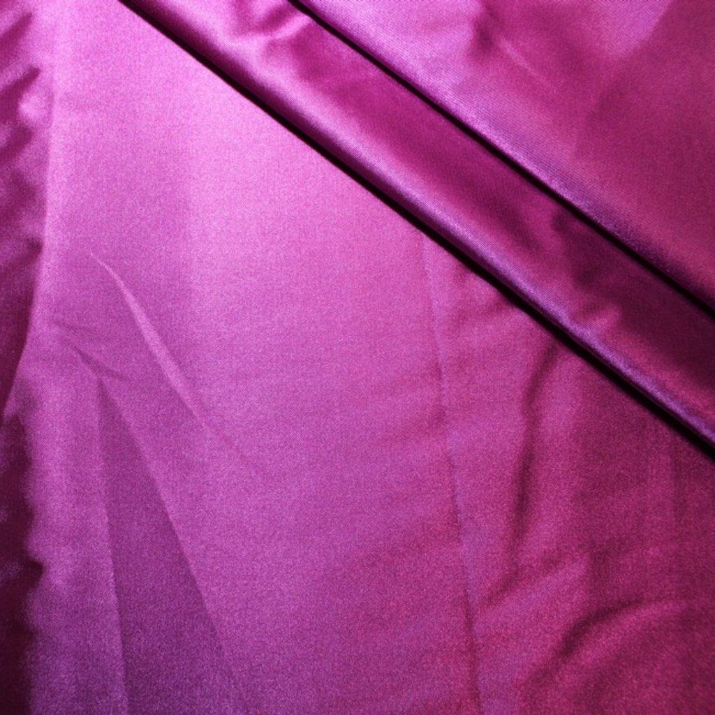 Satén fialový