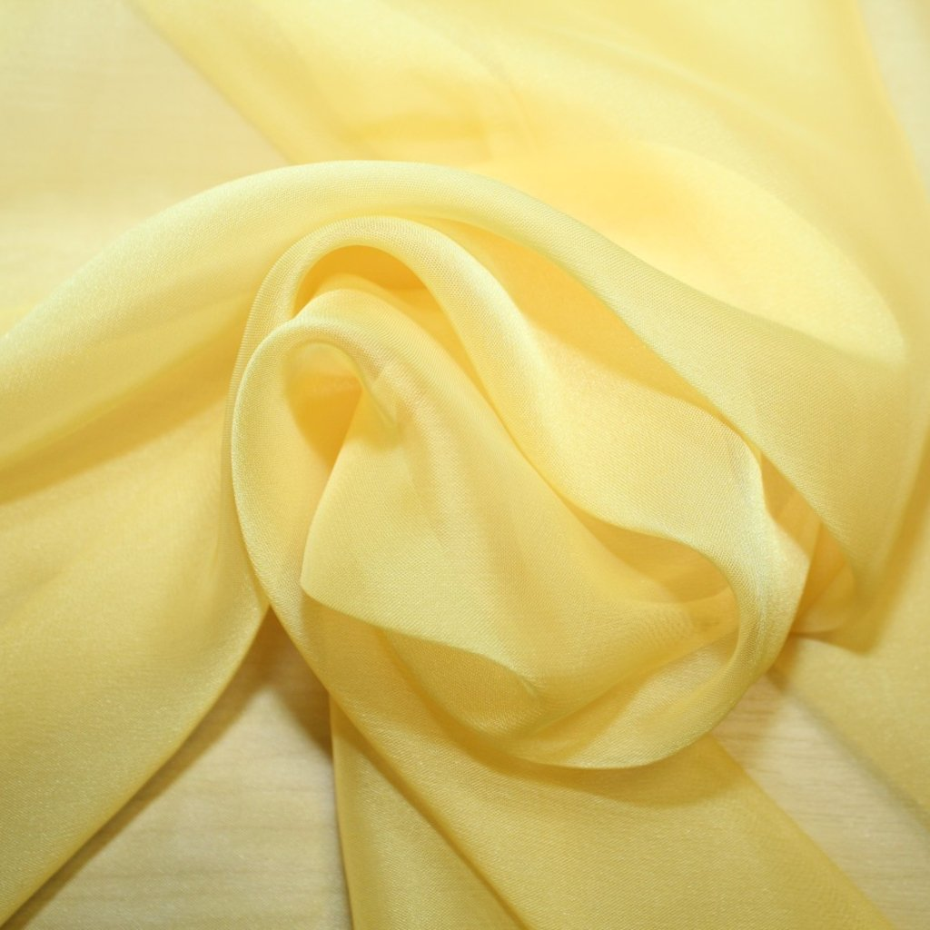 Šifon žlutý