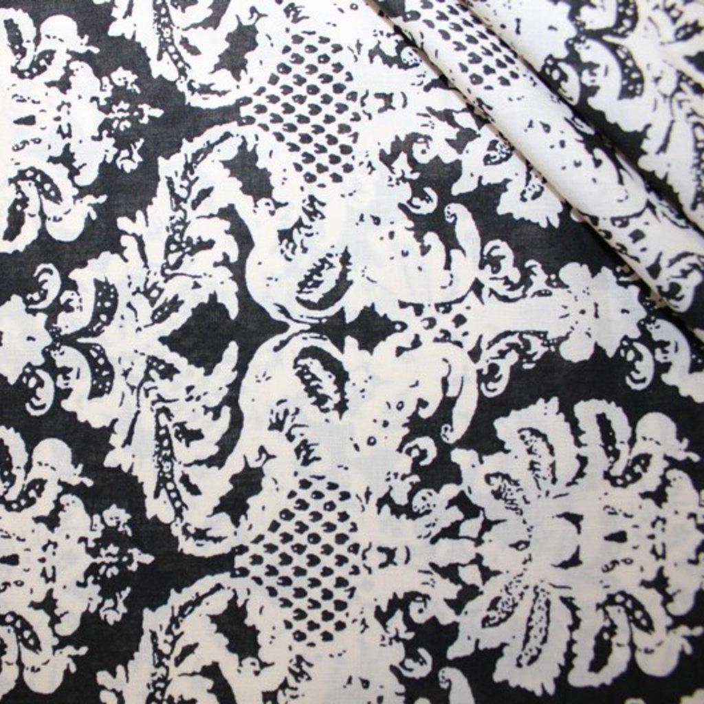Viskóza černobílá
