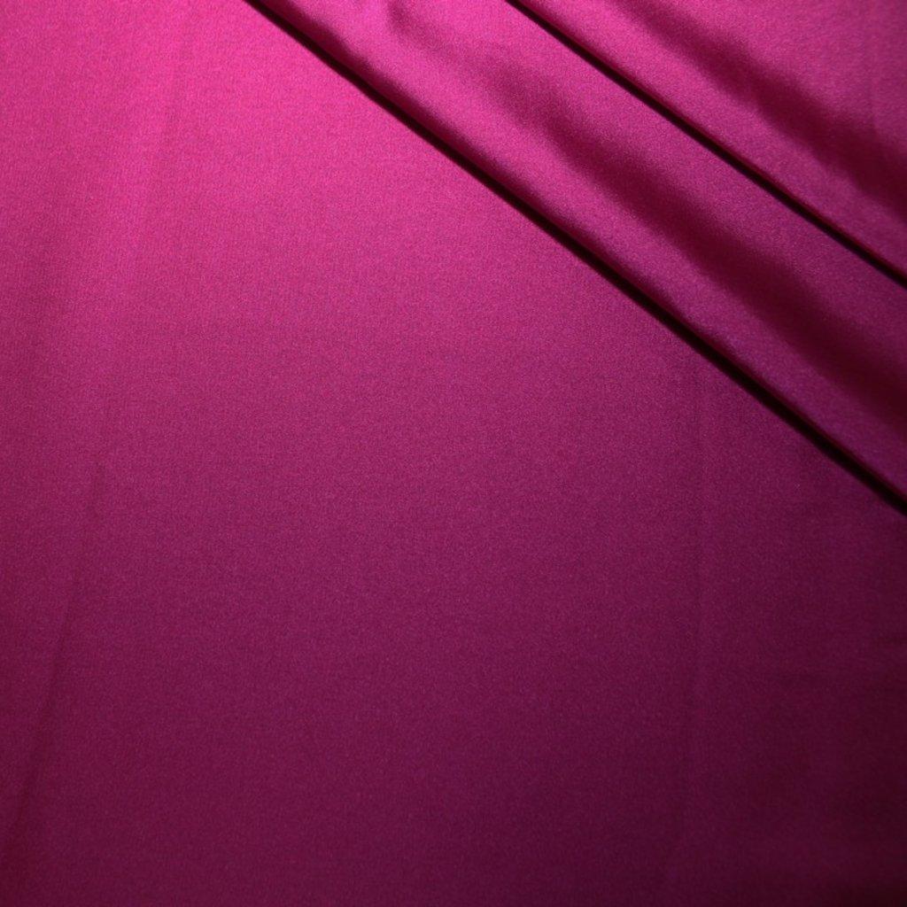 Polyester tmavě růžový