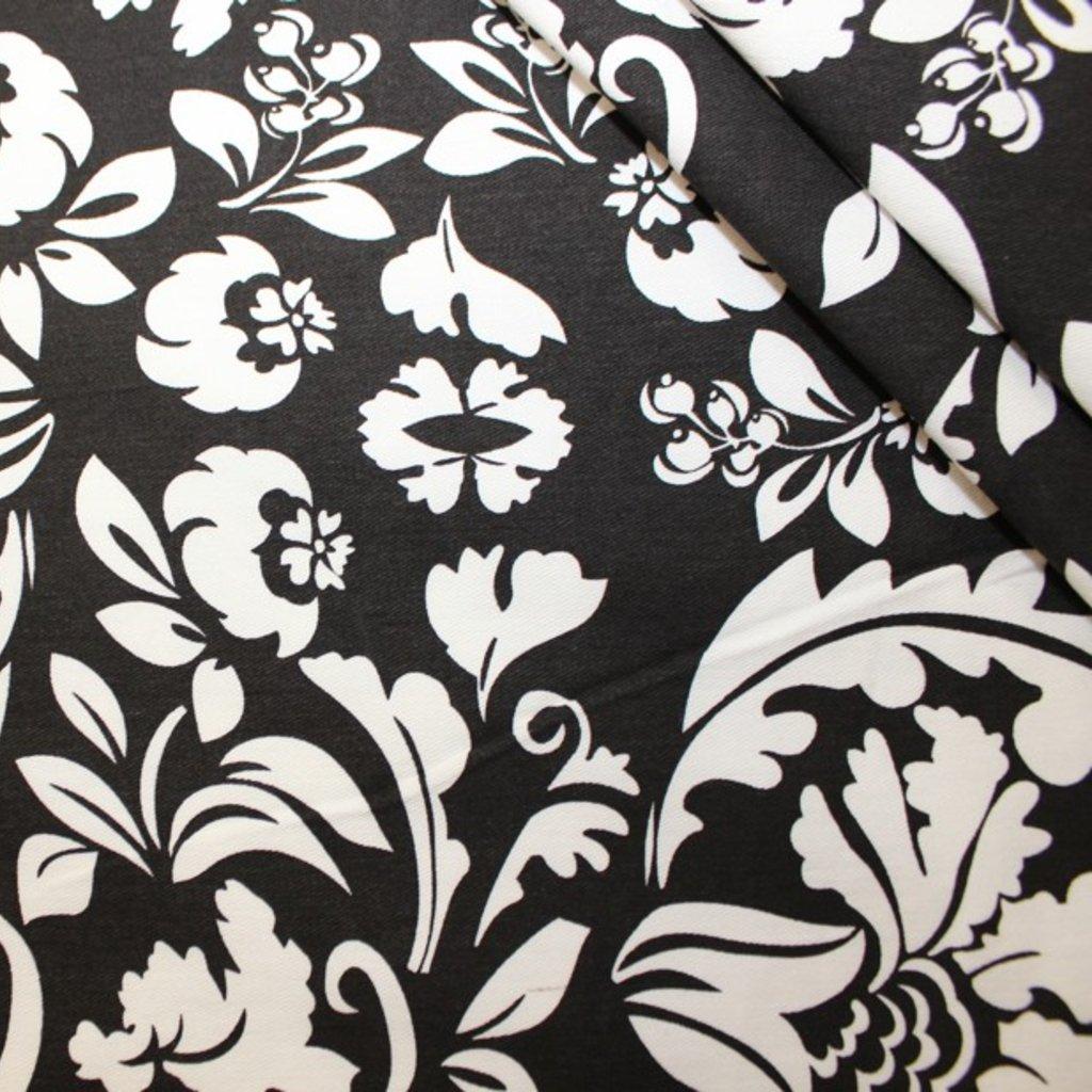 Bavlna černobílá