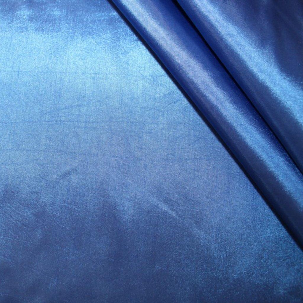 Taft modrý