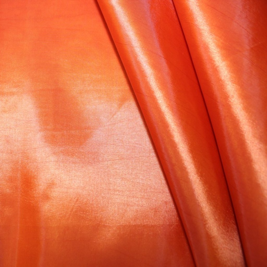 Taft oranžový