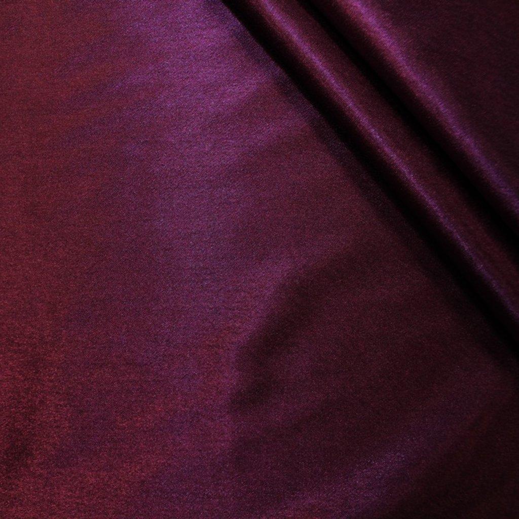 Krepsatén tmavě fialový