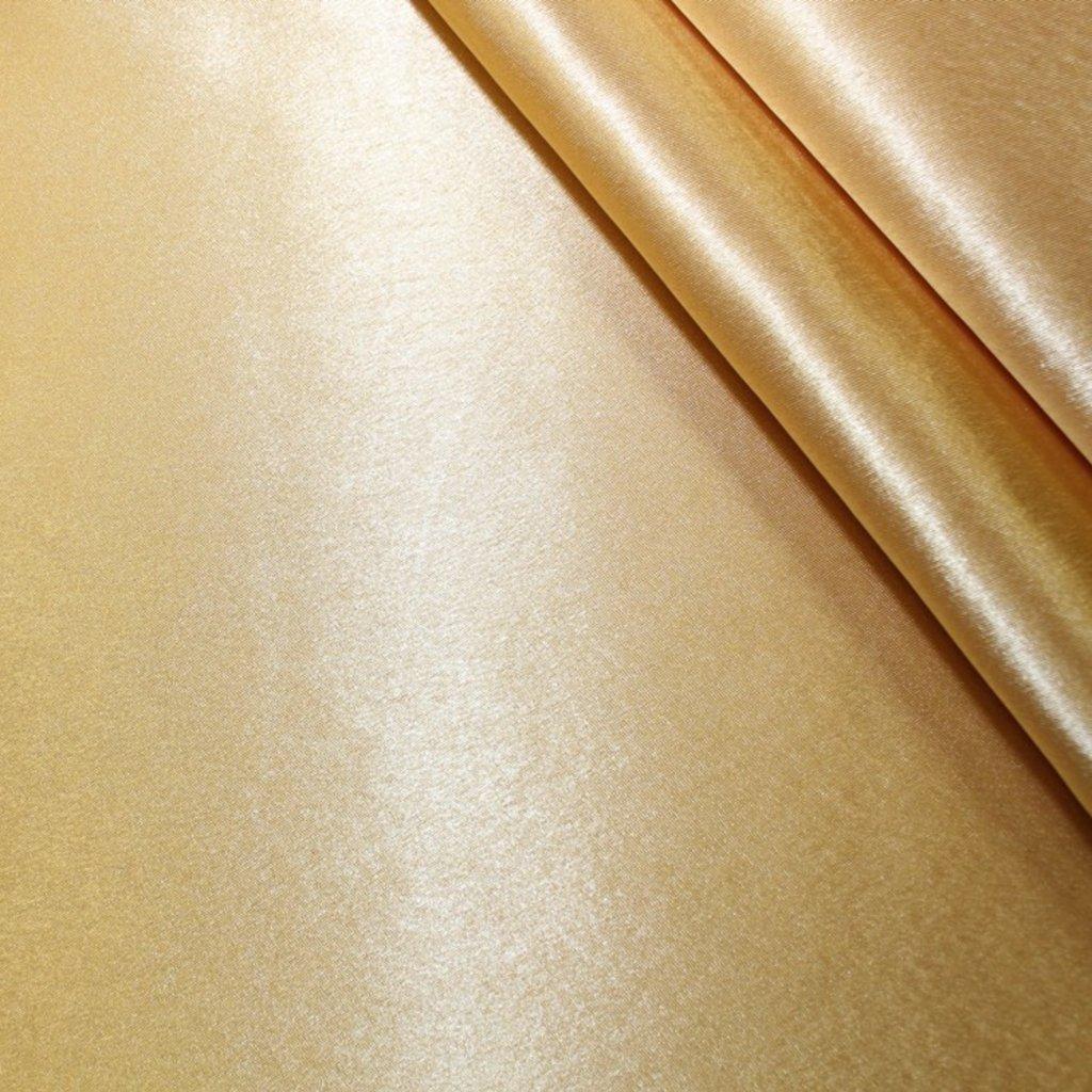 Krepsatén světle zlatý