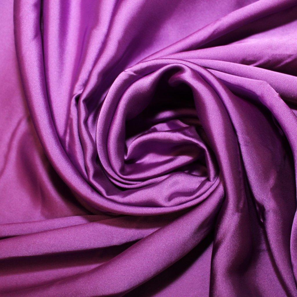 Satén prádlový fialový