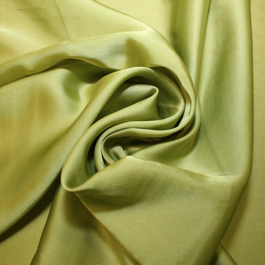Satén prádlový zelený