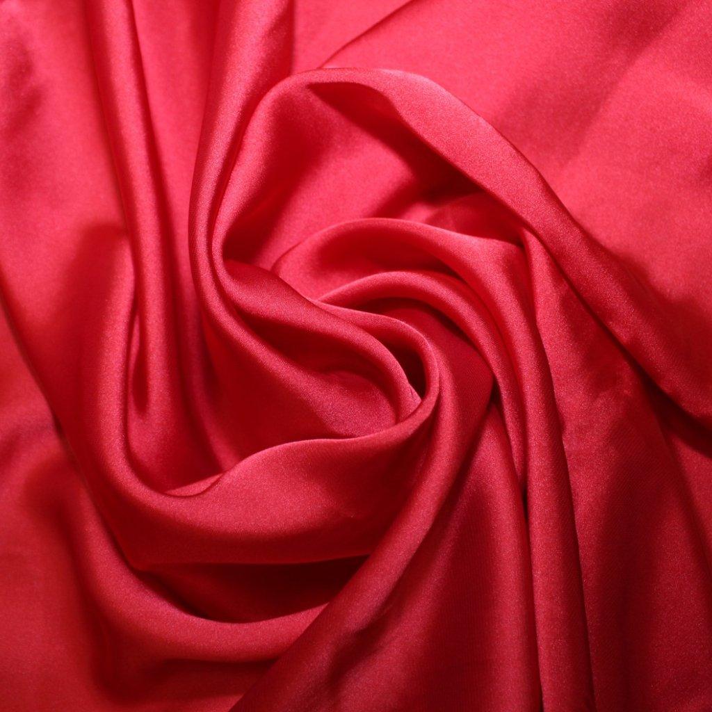 Satén prádlový červený