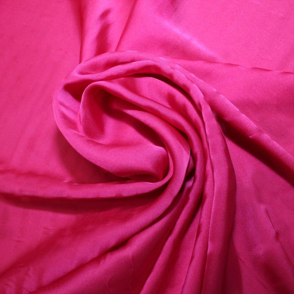 Satén prádlový tmavě růžový