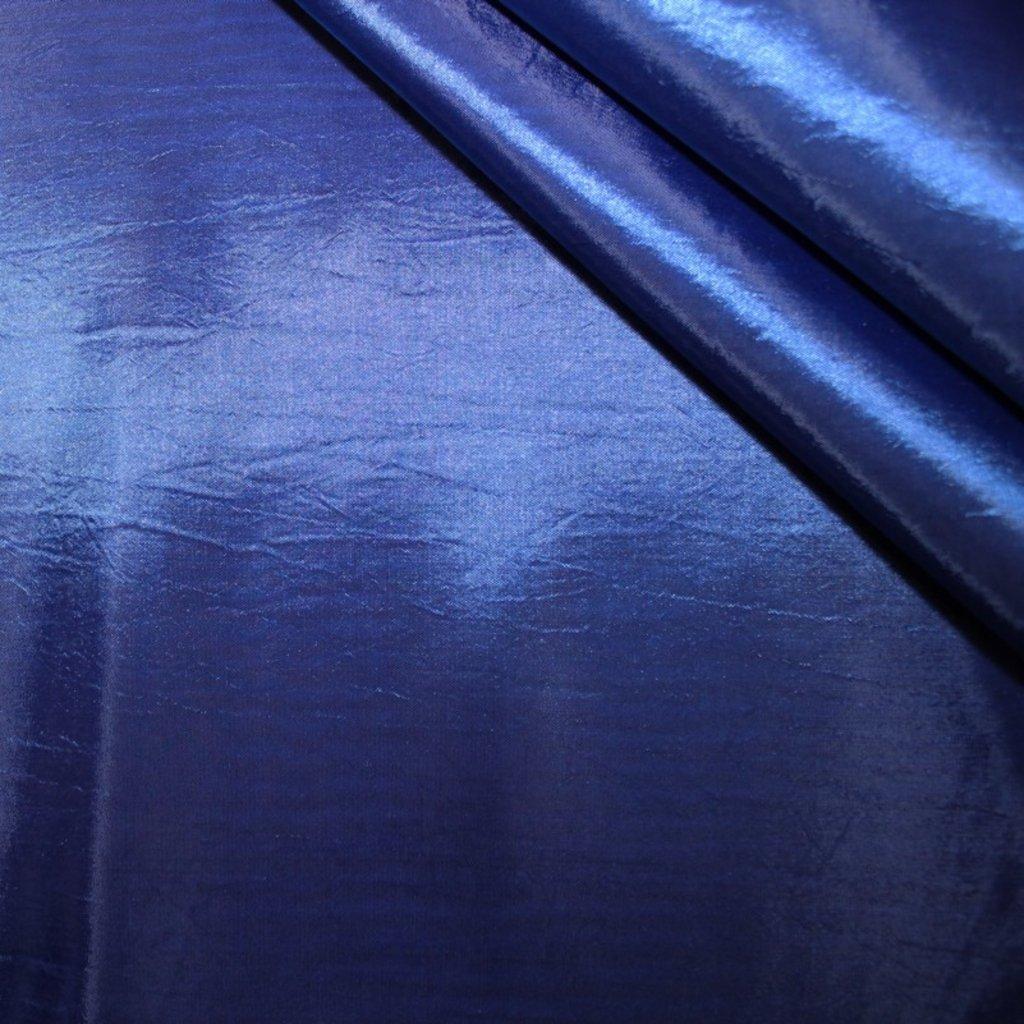 Taft modrý trčavý