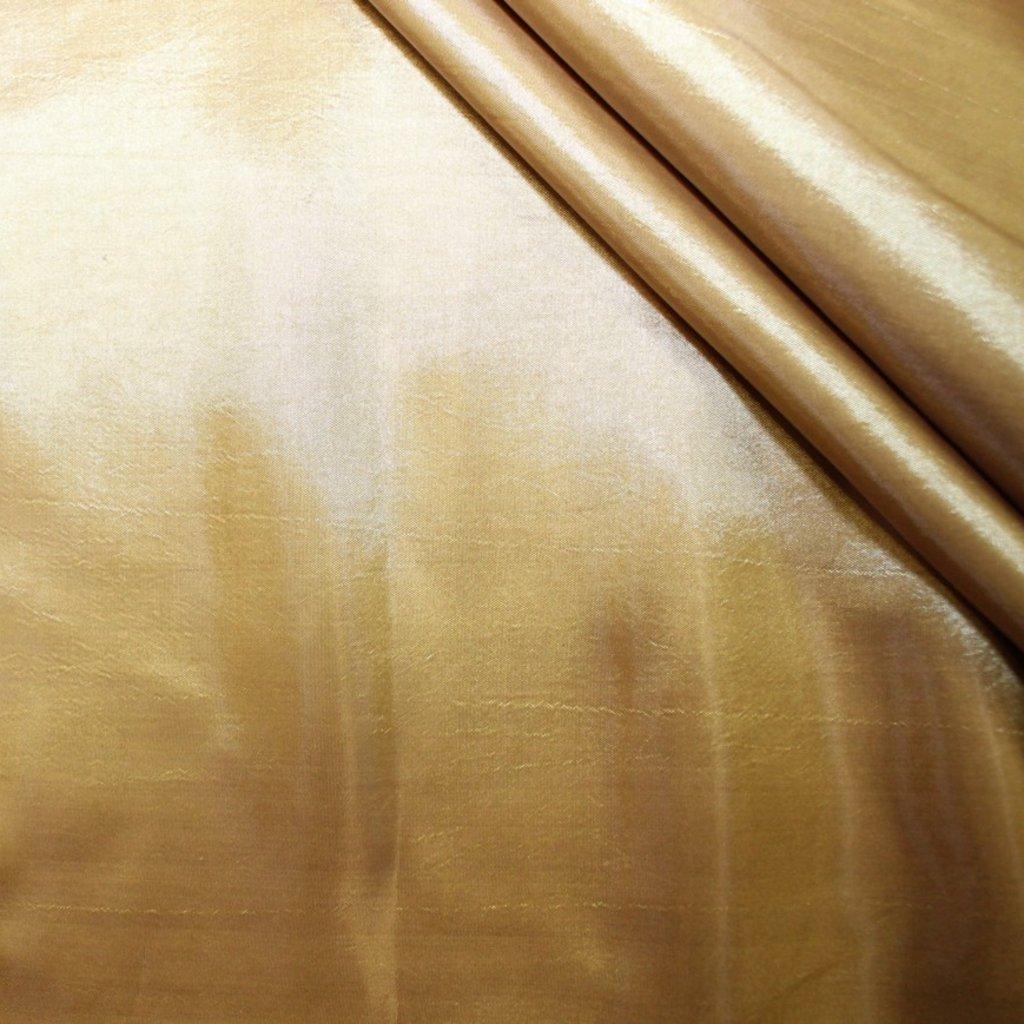 Taft zlatý trčavý