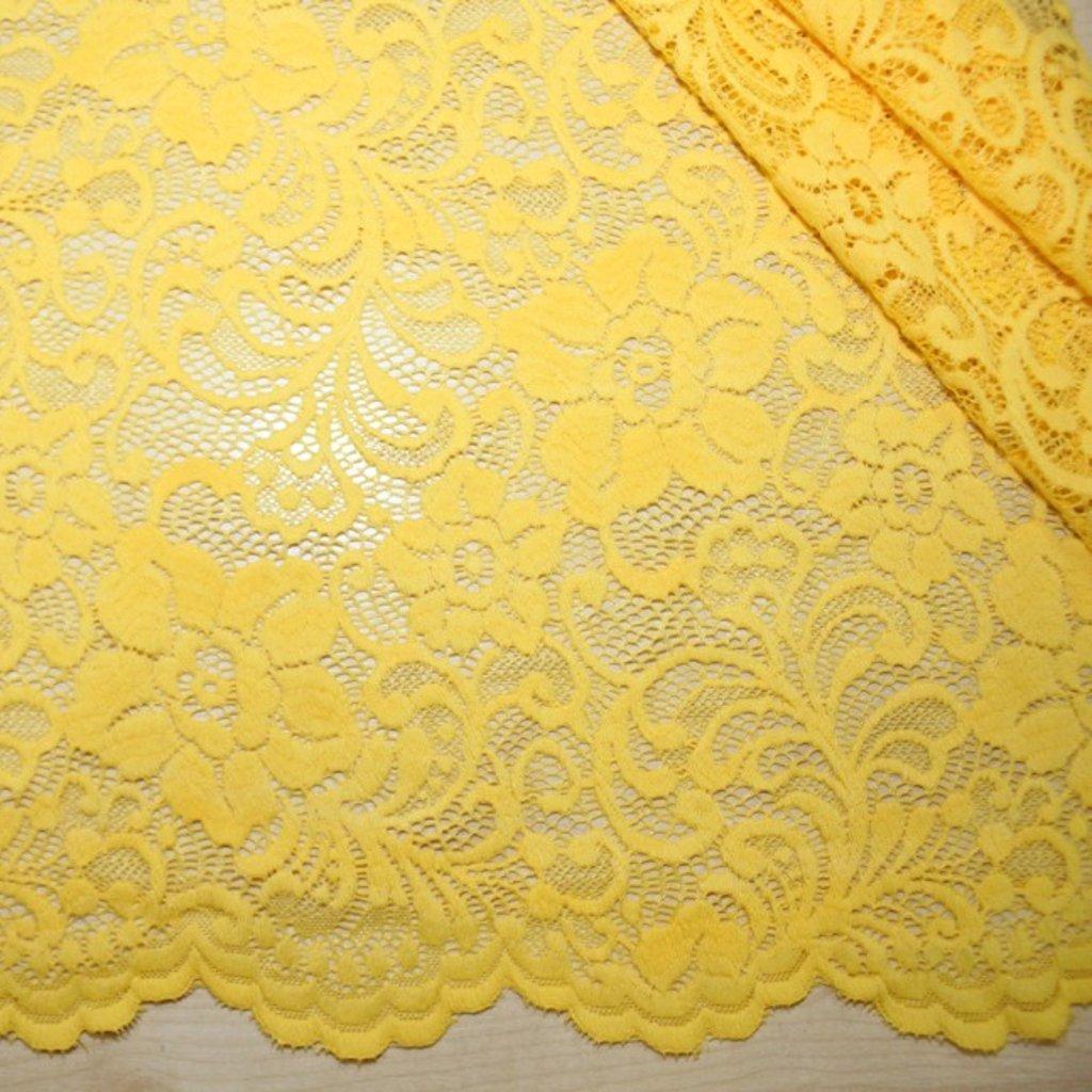 Krajka žlutá