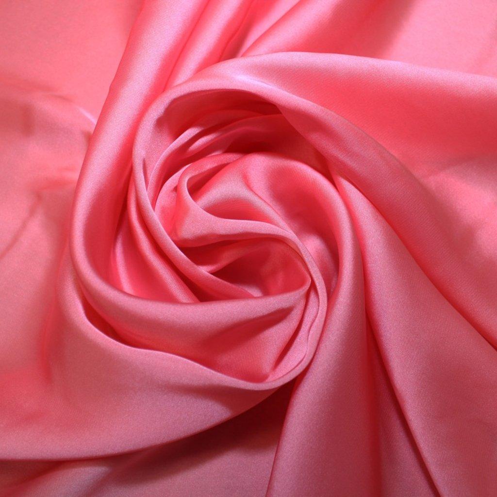 Satén prádlový růžový