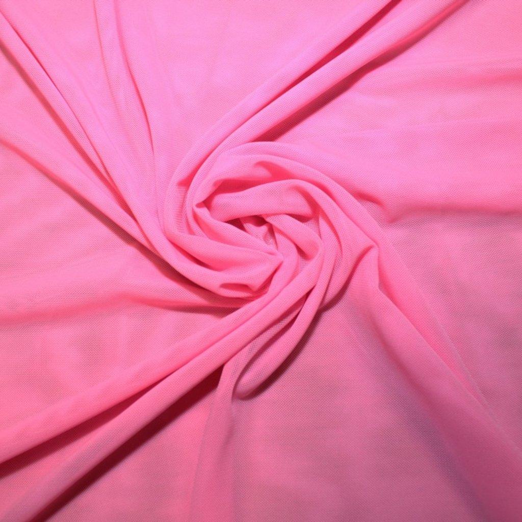 Tyl pružný růžový
