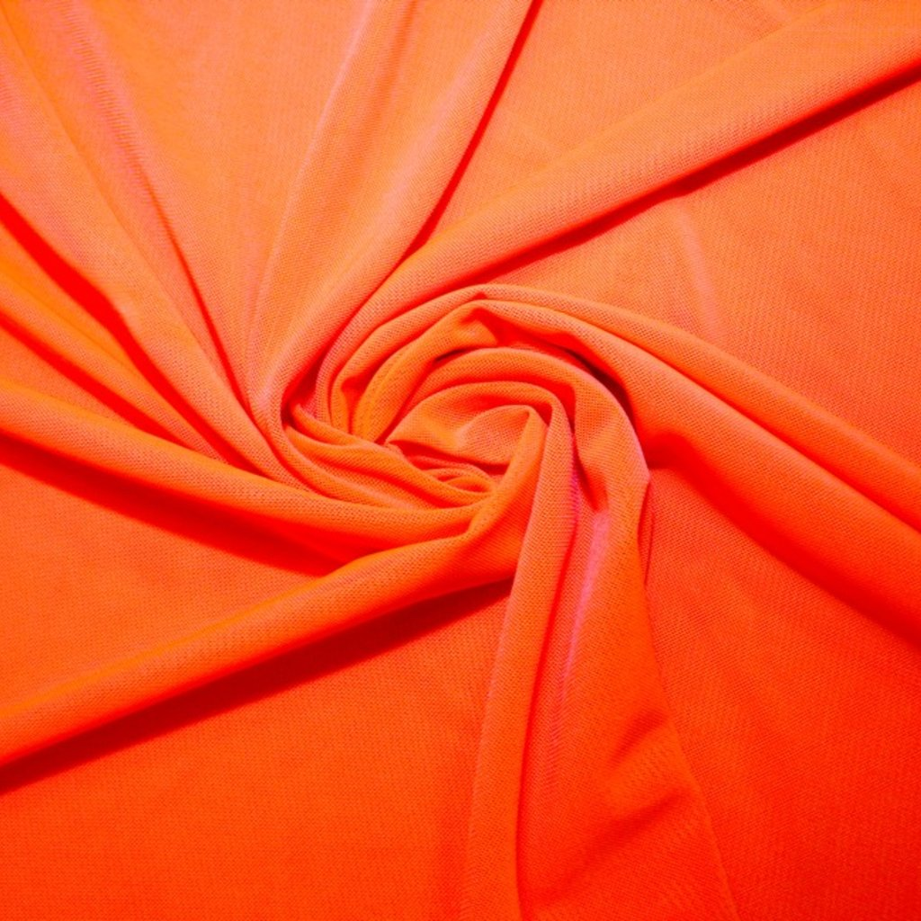 Tyl pružný oranžový
